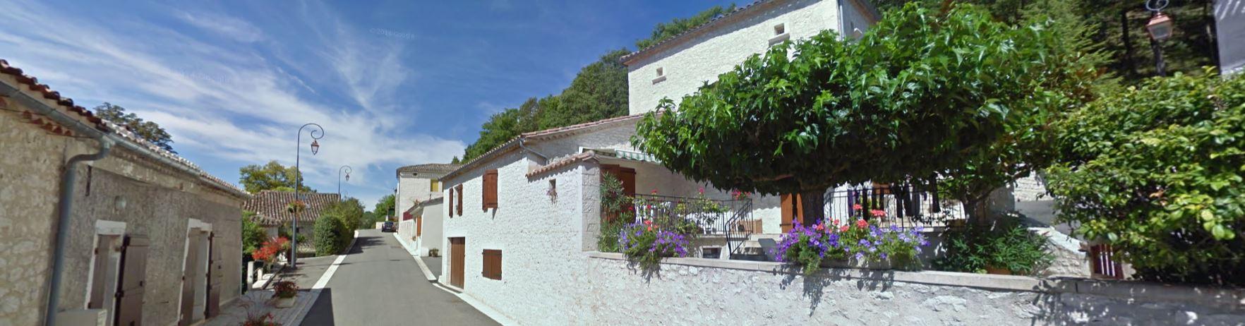 Belvèze village